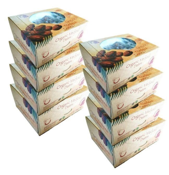 8x 1kg Bio Medjool (Medjoul) Dadels