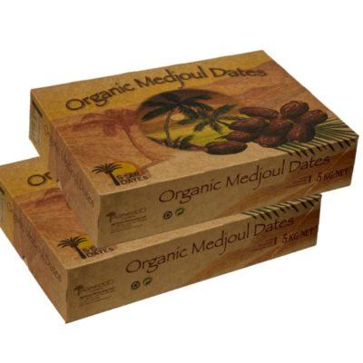 2x 5kg Organic Medjool (Medjoul) Dates Large
