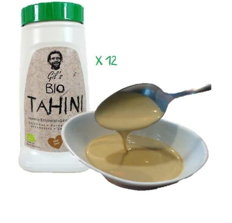 12x 908g Tahini Ecólogico (Pasta De Sésamo)