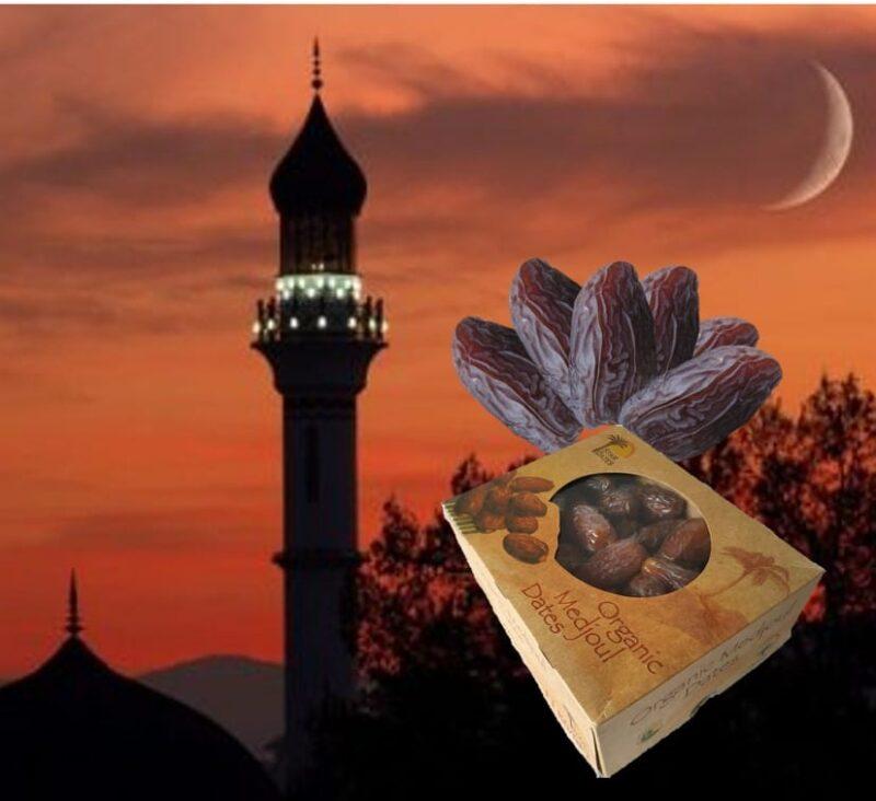 16x1kg Organic Medjool (Medjoul) Dates- Ramadan Special Offer